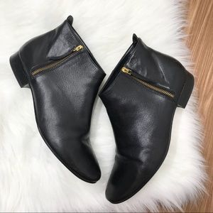 Cole Haan Grand Os Black Leather Boots 11B